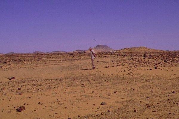 Nabta Playa Stone Circle Sacred Cosmology |Nabta Playa Monolith